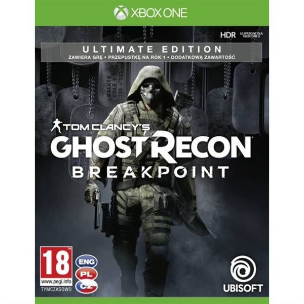 Hra Ubisoft Xbox One Tom Clancy's Ghost Recon Breakpoint Ultimate Edition (USX307360)