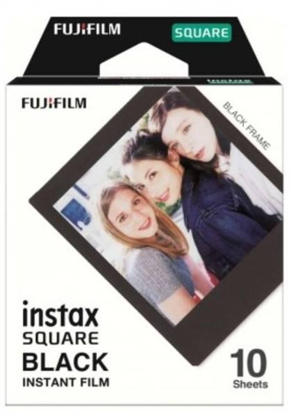 Instantní film Fujifilm Instax Square Black 10ks (16576532) (poškozený obal 2100005625)