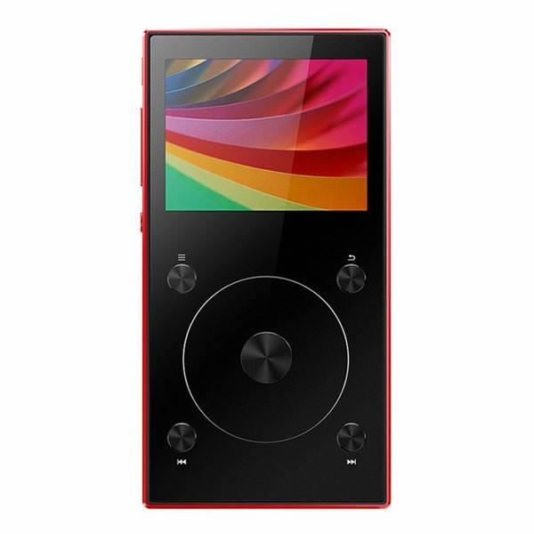 HiFi přenosný digitální přehrávač FiiO X3 Mark III červený