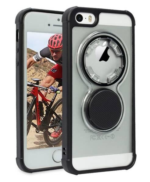 Kryt na mobil Rokform Crystal Clear pro Apple iPhone SE/5/5s (304420P) průhledný