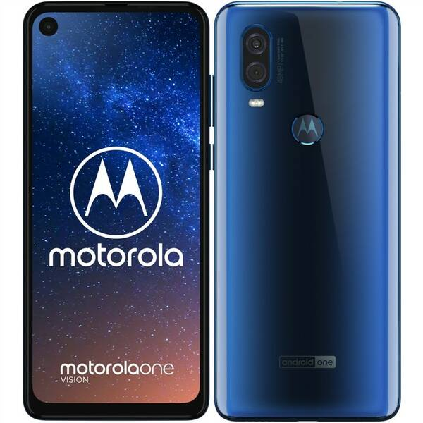 Mobilní telefon Motorola Moto One Vision (PAFB0008RO) modrý