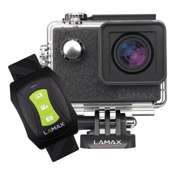 Outdoorová kamera LAMAX X3.1 Atlas černá (vrácené zboží 8800251846)