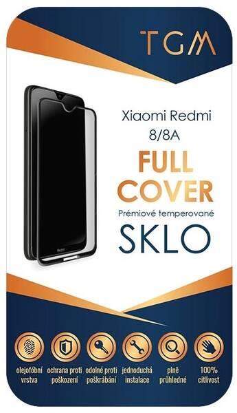 Ochranné sklo TGM Full Cover pro Xiaomi Redmi 8/8A (TGMXIARED8) černé