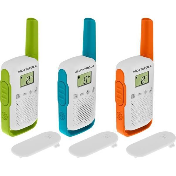 Vysílačky Motorola TLKR T42 - Triple Pack (B4P00811MDKMAW)