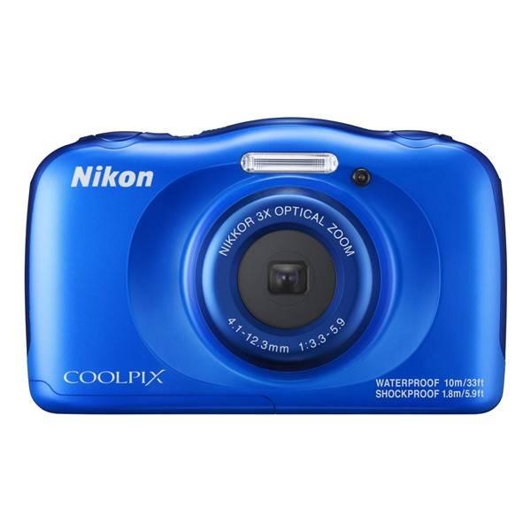 Digitálny fotoaparát Nikon Coolpix W100 BACKPACK KIT (VQA011K001) modrý