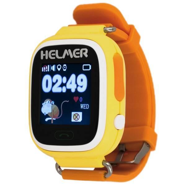 Chytré hodinky Helmer LK 703 dětské (Helmer LK 703 Y) žluté