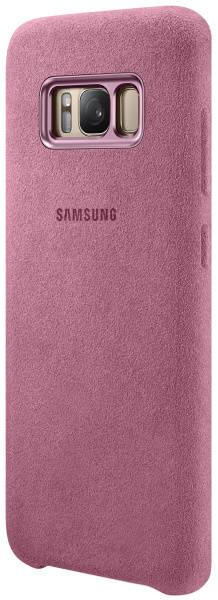 Kryt na mobil Samsung Alcantara pro Galaxy S8  (EF-XG950A) (EF-XG950APEGWW) růžový (poškozený obal 8800106262)