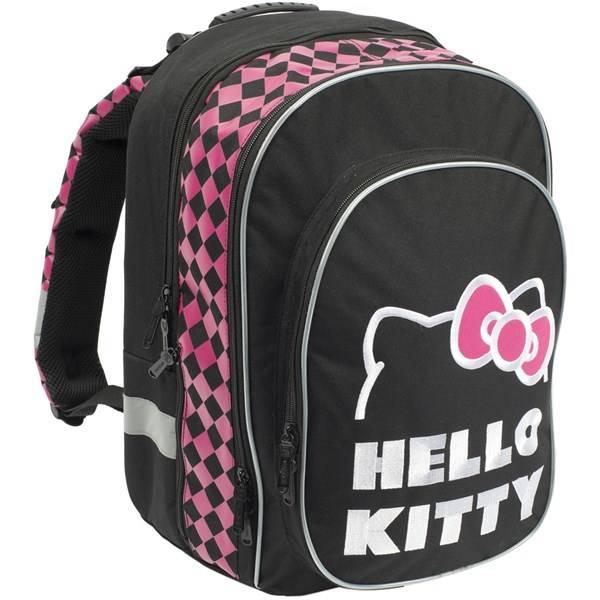 Batoh školní P + P Karton anatomický ERGO Hello Kitty Black