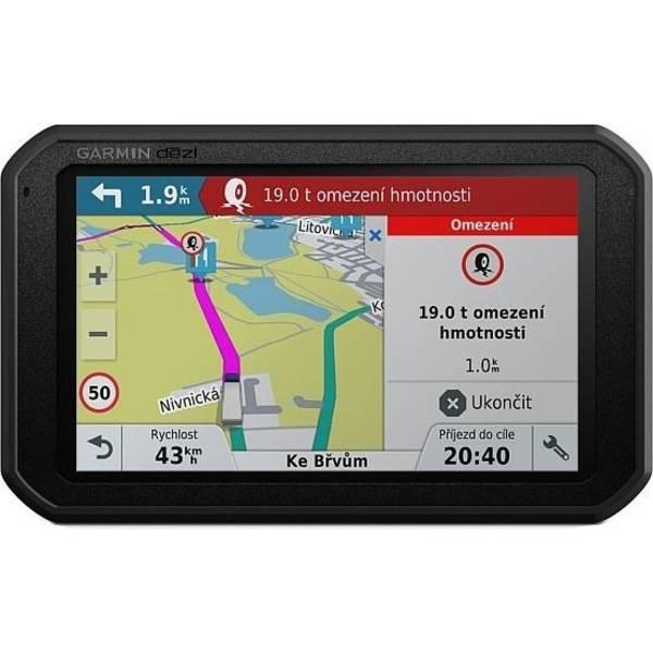 Navigační systém GPS Garmin dezl 780T-D Lifetime Europe45 černá (vrácené zboží 8800336094)