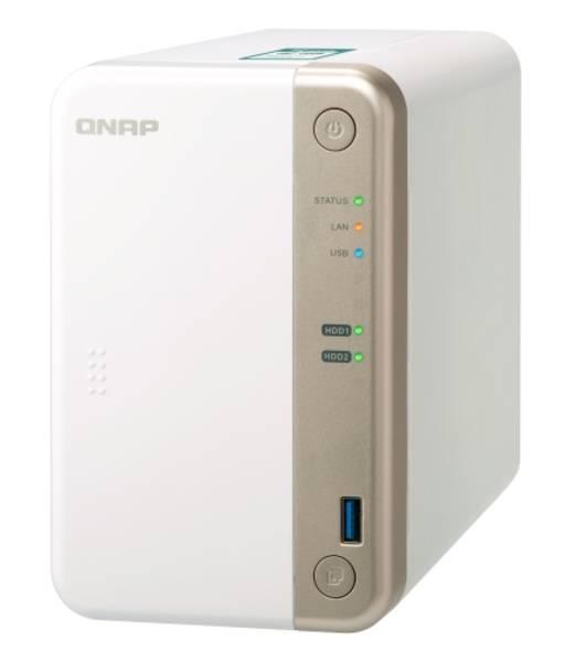 Datové uložiště (NAS) QNAP TS-251B 2G (TS-251B-2G) bílé