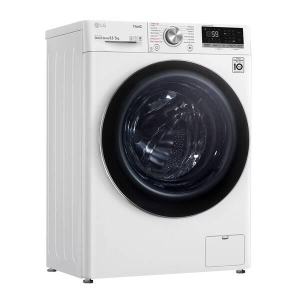 Práčka so sušičkou LG F2DV5S8S2E biela