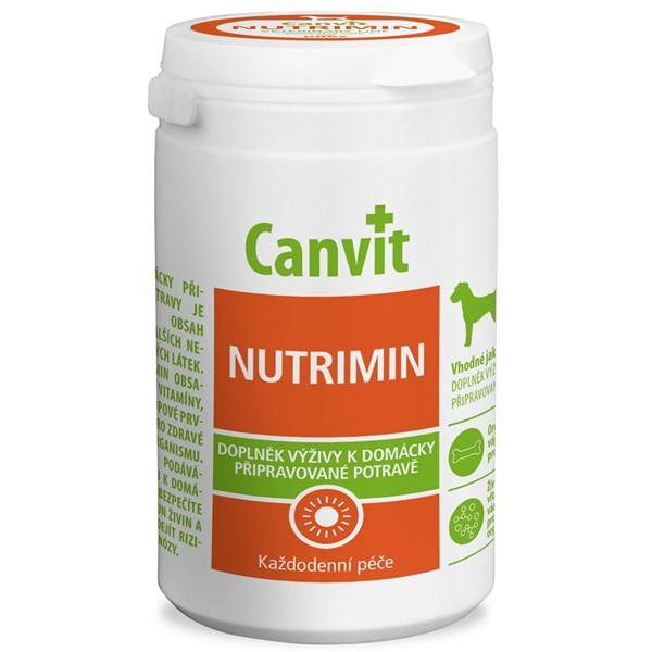 Tablety Canvit Nutrimin pre psy 1000 g new