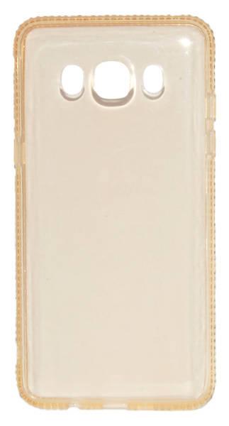 Kryt na mobil Beeyo Diamond Frame pro Samsung Galaxy J5 (2016) (BEASAGAJ52016TPUFRGO) zlatý (vrácené zboží 8800102883)