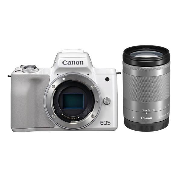 Digitální fotoaparát Canon EOS M50 + EF-M18-150 (2681C042) bílý