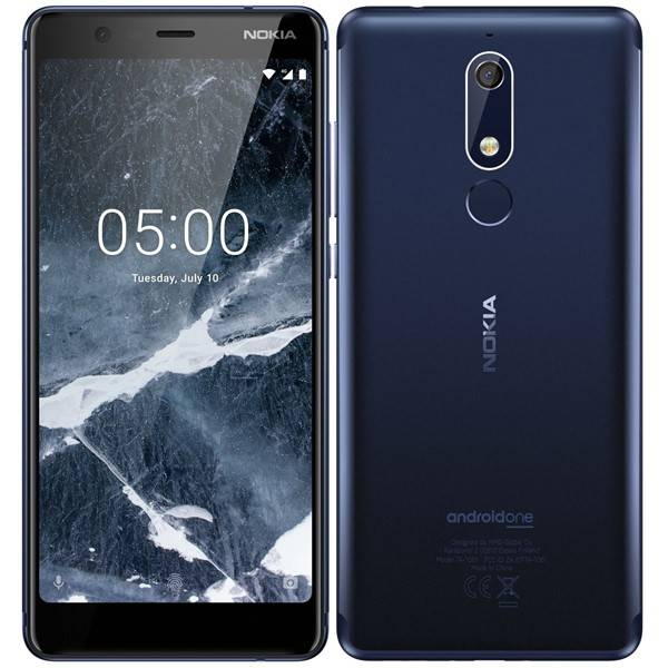 Mobilní telefon Nokia 5.1 Dual SIM (11CO2L01A13) modrý (vrácené zboží 8800220645)