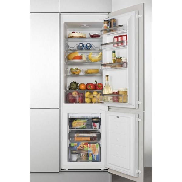 Kombinácia chladničky s mrazničkou Amica BK 316.3 FA biela