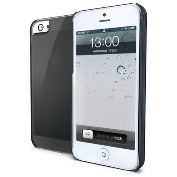 Kryt na mobil Celly Gelskin pro Apple iPhone 5 (GELSKIN185BK) čierny
