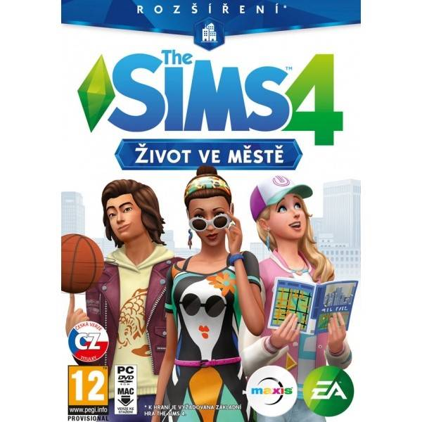 Hra EA PC The Sims 4 - Život ve městě (EAPC05151)