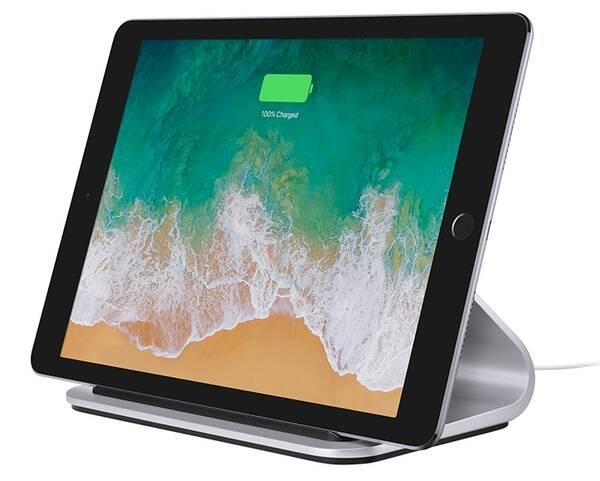 Stojánek Logitech Base pro Apple iPad (939-001471) stříbrný