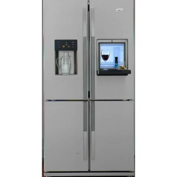 Americká lednice Beko GNE 134630X nerez