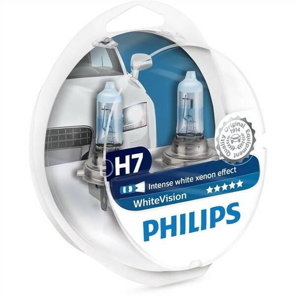 Autožiarovka Philips WhiteVision H7, 2ks (12972WHVSM)