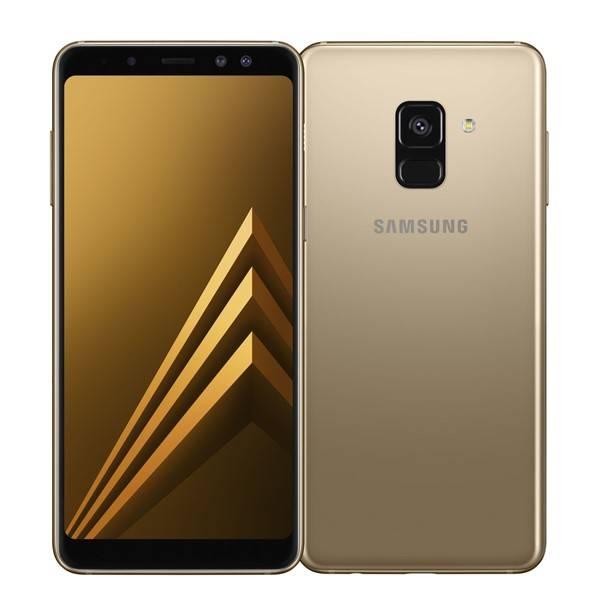 Mobilní telefon Samsung Galaxy A8 Dual SIM - Gold (SM-A530FZDDXEZ) (vrácené zboží 8800184968)