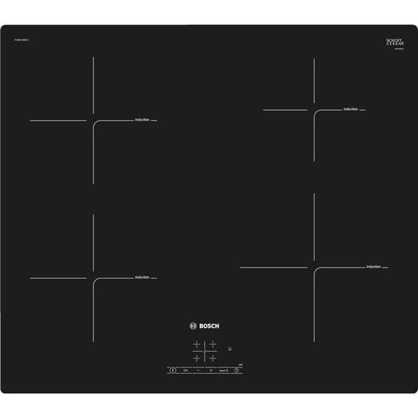Indukční varná deska Bosch PUE611BB1E černá (vrácené zboží 8800313818)