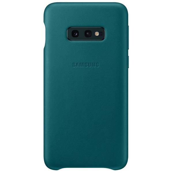 Kryt na mobil Samsung Leather Cover pro Galaxy S10e (EF-VG970LGEGWW) zelený