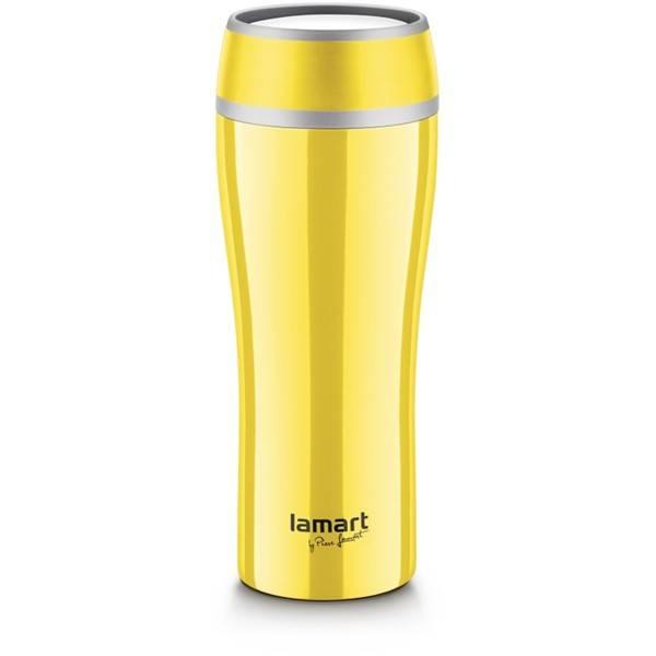 Termoska Lamart Flac 0,4 l (LT4027) žlutá