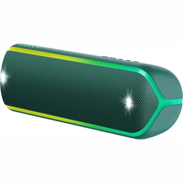 Prenosný reproduktor Sony SRS-XB32 zelený