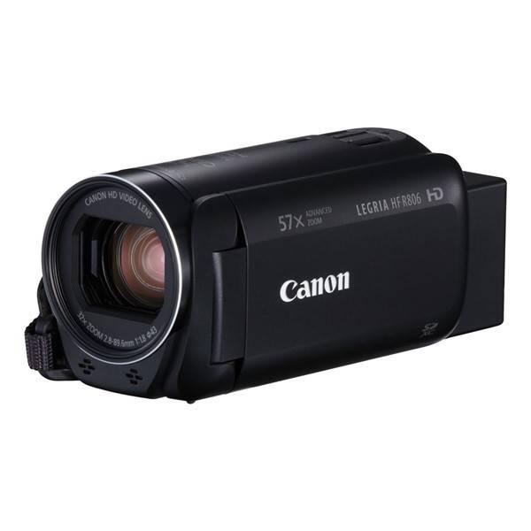Videokamera Canon LEGRIA HF R806 Essential Kit + pouzdro + SD karta (1960C015) černá (vrácené zboží 8800085077)