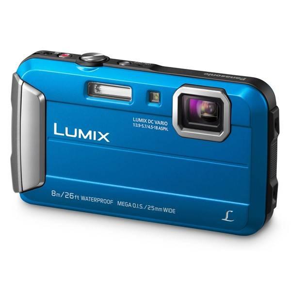 Digitální fotoaparát Panasonic Lumix DMC-FT30EP-A modrý (vrácené zboží 8800283340)
