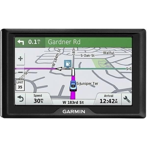 Navigační systém GPS Garmin Drive 51S Lifetime Europe45 Plus (020-00165-13) černá