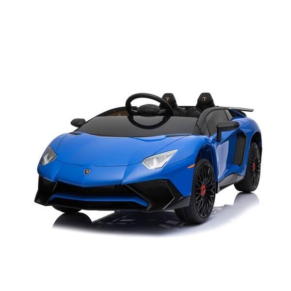 Elektrické autíčko Made Lamborghini modré