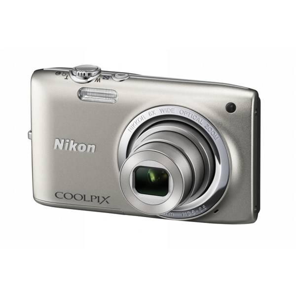 Digitální fotoaparát Nikon Coolpix S2700 stříbrný