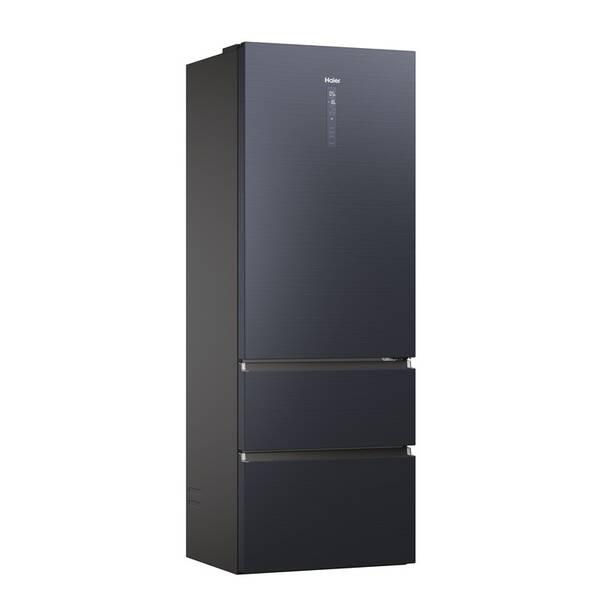 Kombinácia chladničky s mrazničkou Haier HTW7720ENMB čierna