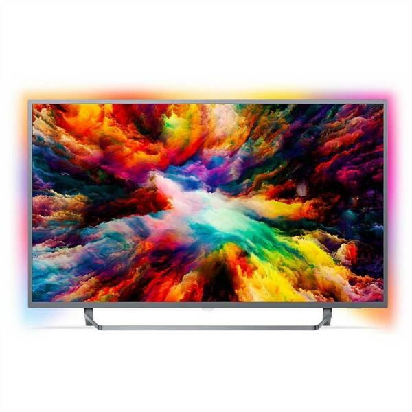 Televize Philips 43PUS7303 stříbrná (vrácené zboží 8800257937)