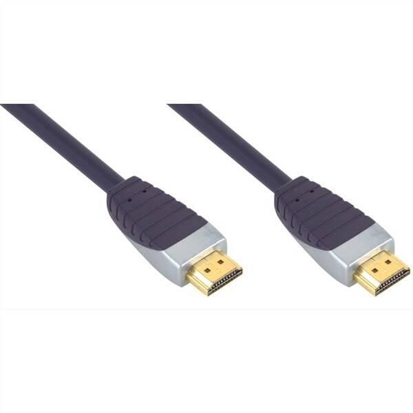 Kábel Bandridge Premium Premium HDMI 1.4, 2m (BSVL1202)