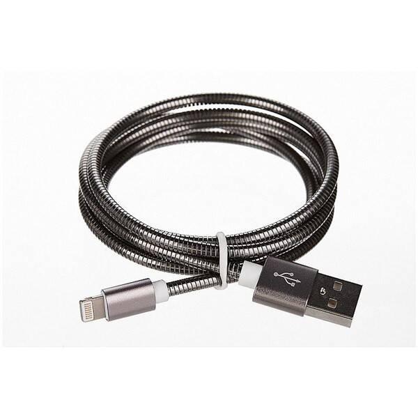 Kabel CellFish USB/Lightning ,1m (CELLKOVGREYAPP) šedý (vrácené zboží 8800259603)