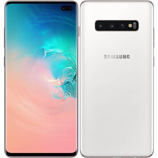 Mobilní telefon Samsung Galaxy S10+ 512 GB - ceramic bílá (SM-G975FCWGXEZ)