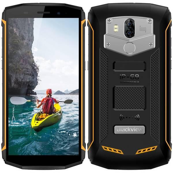 Mobilní telefon iGET Blackview GBV5800 (84000437) černý/žlutý