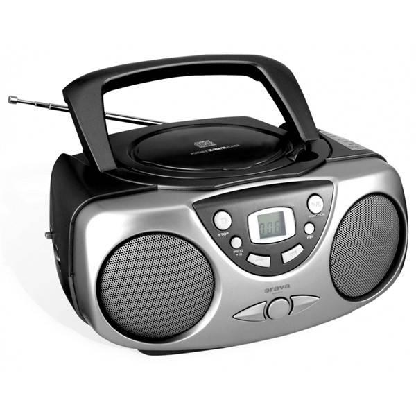 Radiopřijímač s CD Orava RCD-812 černý/šedý