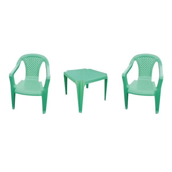 eb882e493950 Záhradný nábytok IPAE dětský - plast zelený ...