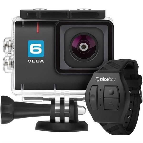 Outdoorová kamera Niceboy 6 + dálkové ovládání černá (vrácené zboží 8800523203)