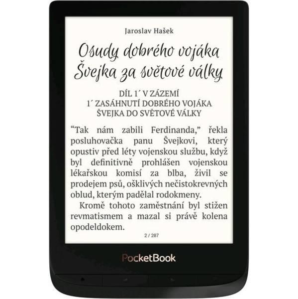 Čtečka e-knih Pocket Book 627 Touch Lux 4 (PB627-H-WW) černá (vrácené zboží 8800291856)