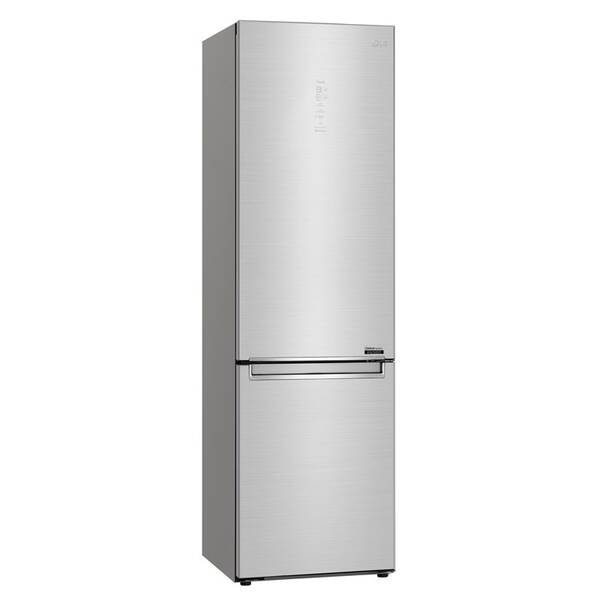 Kombinácia chladničky s mrazničkou LG GBB92STABP strieborná