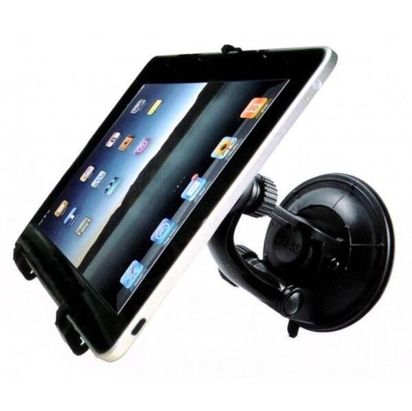 Držiak na tablet WG 2v1, na sklo a opěrku hlavy (4035) čierny
