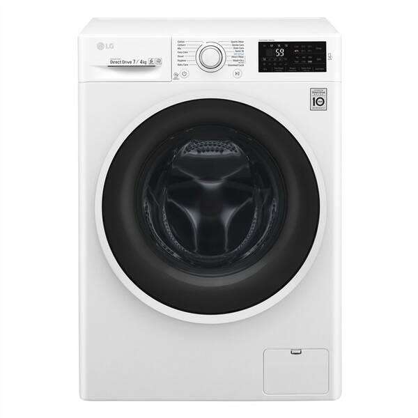 Práčka so sušičkou LG F2J6HM0W biela farba