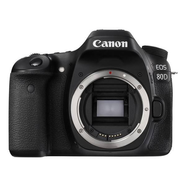 Digitální fotoaparát Canon EOS 80D tělo (1263C032) černý