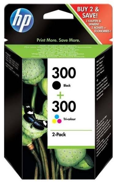Inkoustová náplň HP No. 300 , 165/200 stran, CMYK (CN637EE)